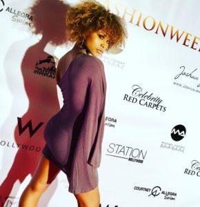 Sita Thompson - LAFW Catwalk