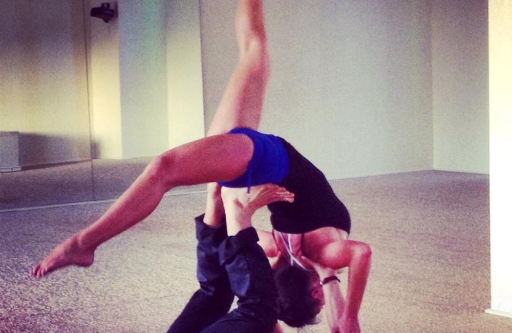 Sita Thompson Bryan Kest Power Yoga Santa Monica