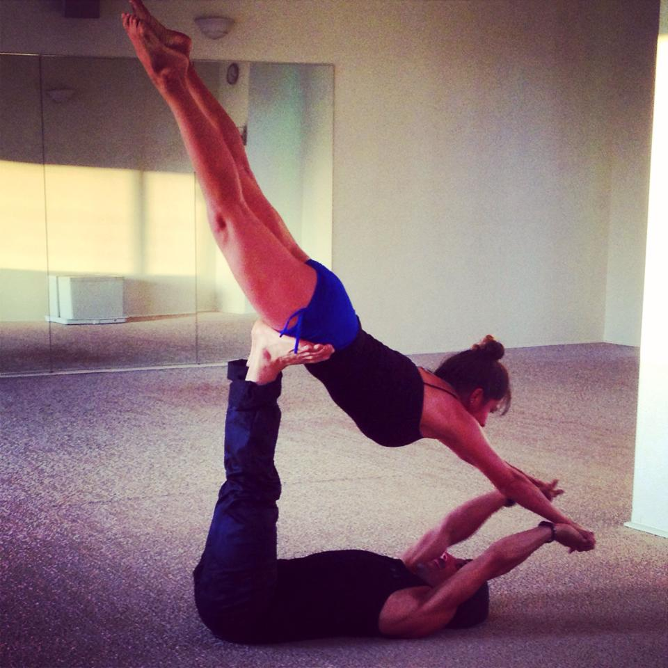 Sita Thompson Bryan Kest Power Yoga Santa Monica Acro Yoga