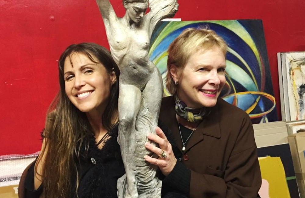 Sita Thompson Helene Nelson-Reiner Art show Los Angeles