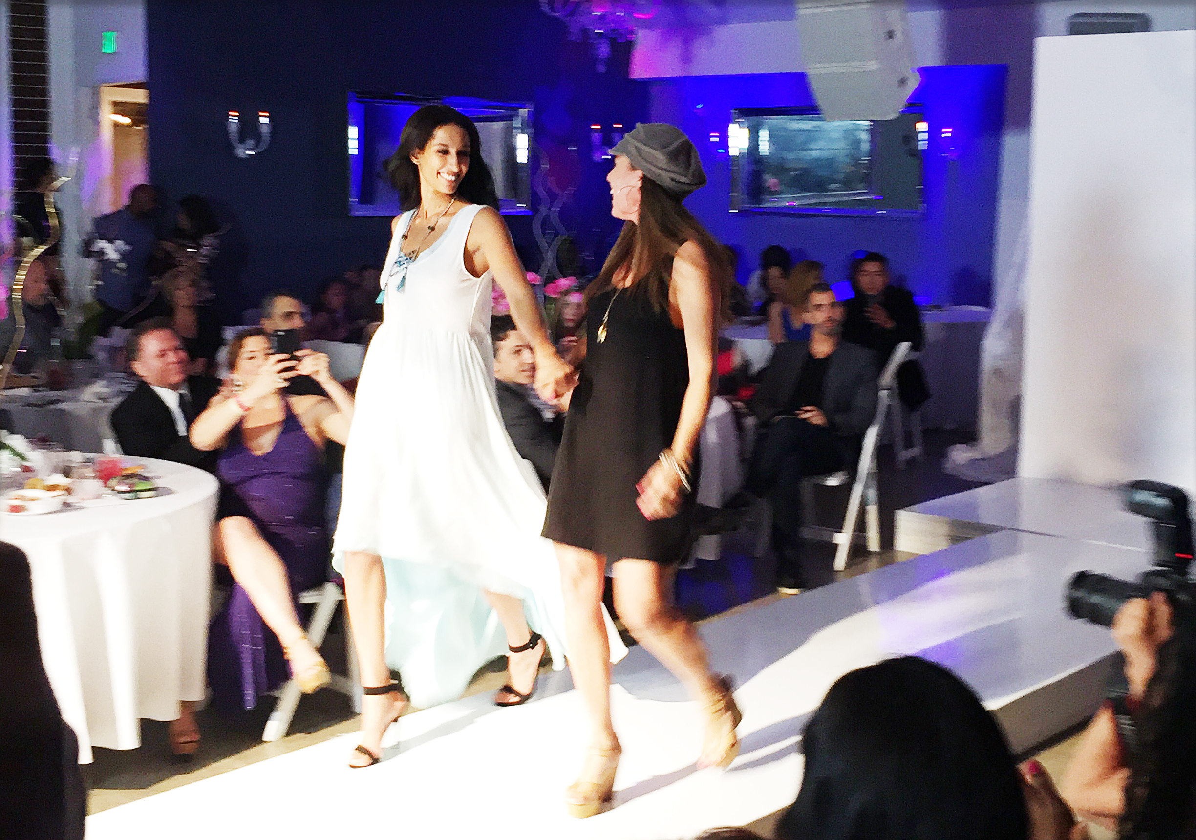 Sita Thompson Kiara Belen Runway show Los Angeles Americas Next Top Model