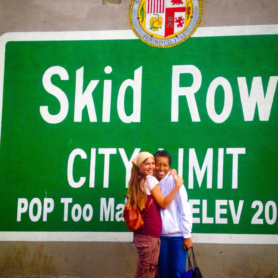 Sita Thompson Rickie Byers Beckwith SKID Row fundraiser